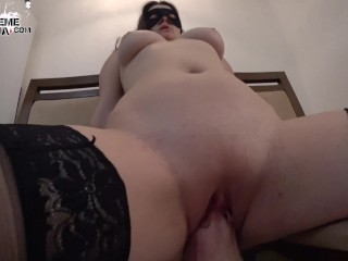 Hot Girl Facefuck and Hard Anal Sex StepBrother - Cum Swallow