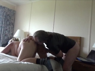 My Fat Ass Wife Sits on My Face Before A Deep Long Doggy Style Drilling Cum on Her Huge Ass PFC