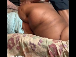 SEXY BBW TAKES BIG BLACK DICK (BBC FUCKS A BBW) @1macmillion
