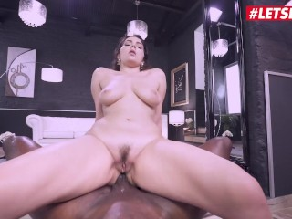 HerLimit - Valentina Nappi Big Ass Italian Model Takes A Huge Black Cock In Her Tight Asshole