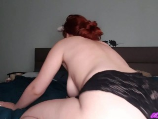 Farts in black lace panties and phat ass shaking (full 5 mins video on Onlyfans)