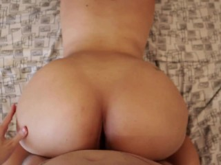 My desperate hairy neighbour fucks me after months without fucking!