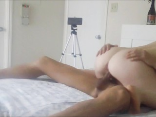 PALE REDHEAD PAWG GETS FUCKED ORAL CUMSHOT