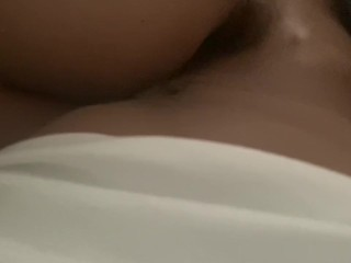 Sexy white slut with super wet pregnant pussy