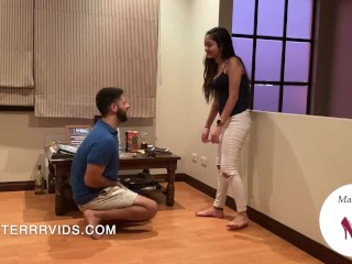 Arianna's Second Time Ballbusting! (Preview)