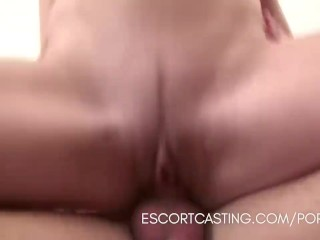 Slutty Teenage Escort Gives Great GFE Service To Client For Casting Video