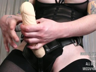 Stroke To The Beat - MISS IVY Pegging JOI Challenge - Femdom POV - Edging Jerk Off Audio Session