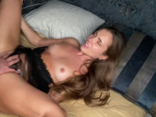Passionate sex with Mary rock