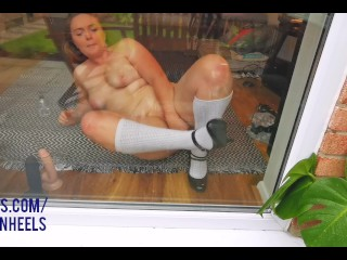 Showing the Neighbour my Wet Cunt