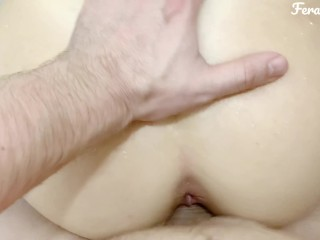 Mommy doesn't mind getting fucked. POV in the shower. FeralBerryy