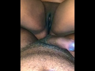 WIFE TAKES ALL OF BIG BLACK DICK