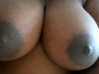 Daddy ask for private videos. He loves my BBW big tits and black pussy