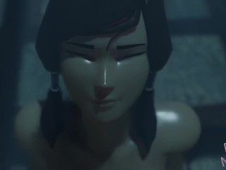 The Legend of Korra Cowgirl - Squirt, Anal, Creampie 3d Hentai - by RashNemain