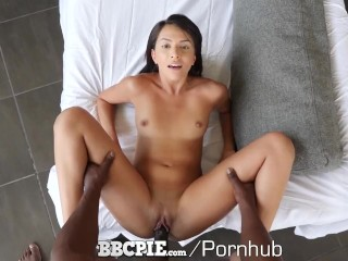 BBCPIE MASSIVE Black Dick Blows Multiple Loads Inside Step Sister Hime Marie