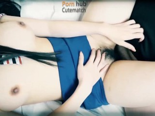 Seduce hotel busty beauty waiter to give me blowjob,Flirt and make love,Shaking breasts