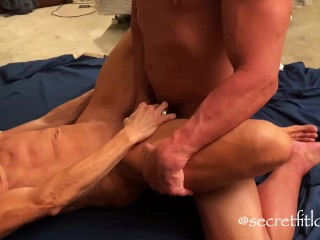 Ripped MUSCLE goddess demands ORGASM from slave! FUCKING hottest MILF ever!!