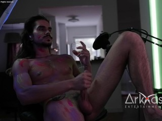Part Two Of My Live Broadcast Cam Show Solo Swe straight man