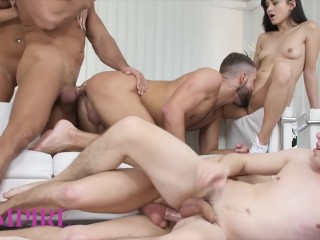 Bi-Empire – The Hottest Boy And Girl Orgy Yet