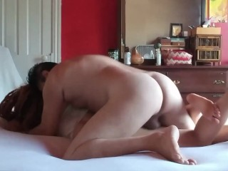 With White Lace Bra Getting Pounded By Cock and Huge Bull Sized Balls No Condom . She loved it