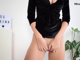 SEXY MINI DRESS NO PANTIES ASS FINGERING AND DREAMING OF A DICK IN MY ASS