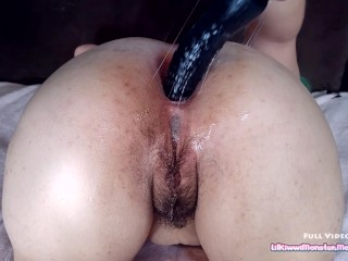 Kiwwi's FIRST Anal Fisting and GAPE!!!