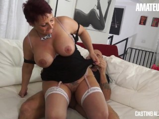 CastingAllaItaliana - Big Tits Mature Housewife First Rough Anal Audition