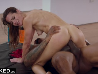 BLACKED She was too distracted by the BBC so she fucked it