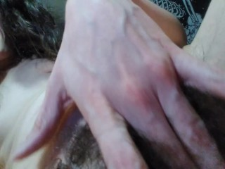 Do you Wanna Fuck me in my Hairiest Sluttiest Fur Burger Pussy Until Sassy Mouth STFUS Fuck yes!