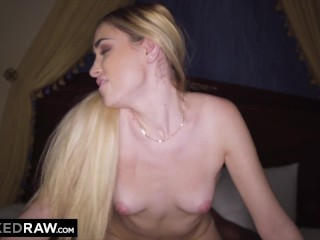 BLACKEDRAW BBC-Hungry Blonde hooks up with her old teacher