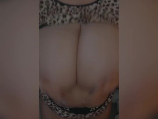 Bbw JOI wants your cum on her massive tits