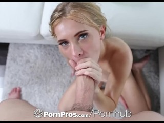 PornPros Hairy pussy Kaylee Jewel massage fuck with mouthful