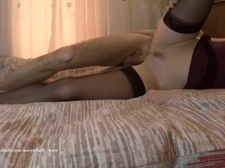 Lady WOW Passionate sex with HUGE creampie