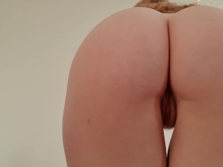 Jiggly Bubble Butt Upskirt Try On Haul - Redhead - DLE