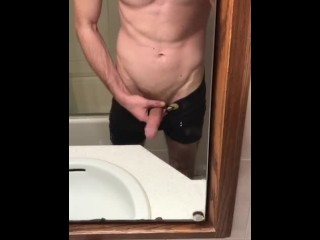 Showing off my thick cock