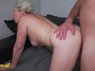 Cheating Housewife Gets Creampie From Toyboy Neighbor