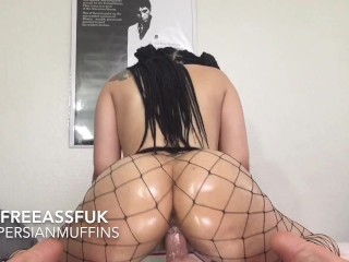 Bubble Butt Mixed Girl Squat Riding - TribeSafha