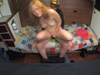 Lap Dance Leads to Sex With Amateur Redhead