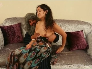 Creepy indian caught me playing with myself and showed me how to finger - hindi Sexy Jill