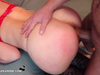 Sexy Escort Girl Spanked And Fucked By A Regular Client