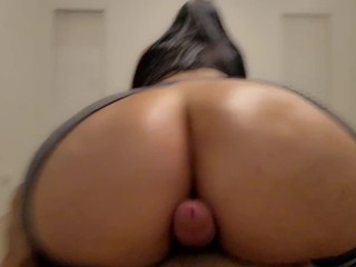 Step Mom Seduces Son With Her Juicy Huge Oiled Ass In Ripped Leggings