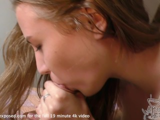 hottie teen real 1st time ever blowjob