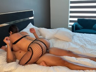 Big Booty Babe practices her twerking skills on a Big Dick.