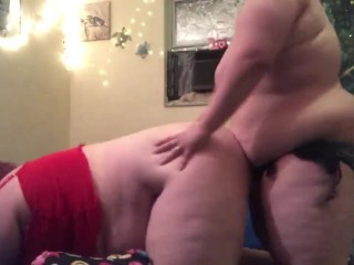 Cute Neko bbw Luna gets bent over and pounded till she cums