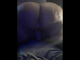 Indigo  -  Can I sit this fat ass on your face daddy? Please
