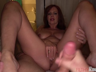 Mature Milf Wants to Experience Step-Son's Big Dick