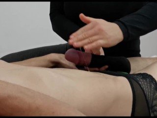 Dominant Girl Rides his Cock until he Cums. CUM ON MY ASS