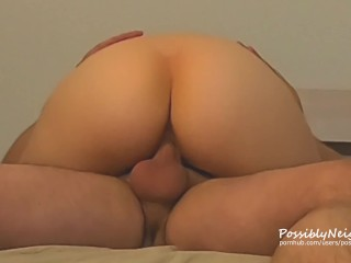 Homemade Sex Tape: Cum Dripping out of Pussy after Intense Orgasm