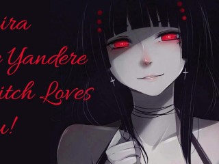 Mira Ch2: Yandere Witch Pleasures Herself While Watching You!