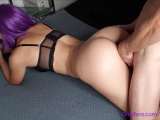 Creampied Teen - Pussy Destroying in Doggystyle ! Kiss Melani