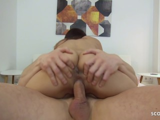 GERMAN SCOUT - FIRST FUCK ANAL AND FACIAL CUMSHOT COMPILATION